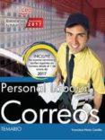 PERSONAL LABORAL. CORREOS. TEMARIO di PEREZ CASTILLO, FRANCISCO