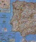 ESPAÑA Y PORTUGAL CLASSIC PLASTIFICADO, MAPA MURAL 78 X 51 CM (ESCALA: 2.074.000) di VV.AA.