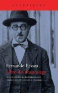 LIBRO DEL DESASOSIEGO de PESSOA, FERNANDO