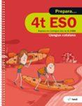 9788441230385 - Vv.aa.: Quadern Prepara Llengua Catalana 4º Eso Ed 2017 - Libro