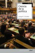 CIENCIA DE LA POLITICA di COLOMER, JOSEP M.