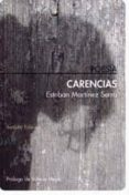 CARENCIAS di MARTINEZ SERRA, ESTEBAN