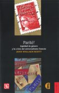 PARITÉ! de SCOTT, JOAN WALLACH