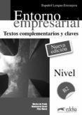ENTORNO EMPRESARIAL - TEXTOS COMPLEMENTARIOS Y CLAVES di PRADA, MARISA DE