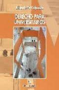 DERECHO PARA UNIVERSITARIOS (5ª EDICION) di VALPUESTA GASTAMINZA, EDUARDO M