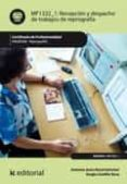 Recepción y despacho de trabajos de reprografía. argi0309 Epub Descarga gratuita