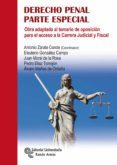 DERECHO PENAL: PARTE ESPECIAL: OBRA ADAPTADA AL TEMARIO DE OPOSICION PARA EL ACCESO A LA CARRERA JUDICIAL Y FISCAL di VV.AA.