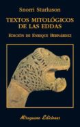 TEXTOS MITOLOGICOS DE LAS EDDAS di STURLUSON, SNORRI