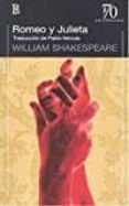 ROMEO Y JULIETA de SHAKESPEARE, WILLIAM