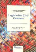 LEGISLACION CIVIL CATALAN 3ª ED. di HERNANDEZ MORENO, ALFONSO