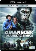 Comprar EL AMANECER DEL PLANETA DE LOS SIMIOS - 4K UHD + BLU RAY -