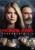 Comprar HOMELAND: TEMPORADA 1-4 (DVD)