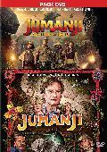 Comprar PACK JUMANJI (1995) + JUMANJI: BIENVENIDOS A LA JUNGLA - DVD -