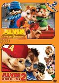 Comprar PACK ALVIN Y LAS ARDILLAS + ALVIN Y LAS ARDILLAS 2 (DVD)