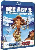Comprar ICE AGE 3 - EL ORIGEN DE LOS DINOSAURIOS 3D (BLU-RAY 3D + 2D + DV