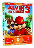 Comprar ALVIN Y LAS ARDILLAS 3 (CON COPIA DIGITAL) (TRIPLE PLAY  DVD + BL