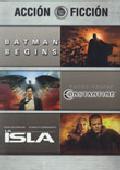 Comprar PACK ACCION-FICCION: BATMAN BEGINS + CONSTANTINE + LA ISLA