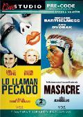 Comprar DOBLE SESION PRECODE: LO LLAMAN PECADO / MASACRE (DVD)
