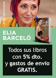 Elia Barceló, autora del mes