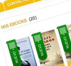 Para ver sólo tus eBooks comprados en casadellibro.com selecciona el estante
