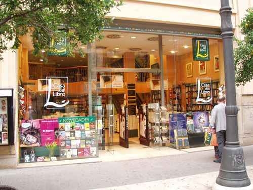 Librería Casa del Libro Passeig Russafa, 11-Valencia